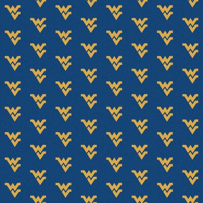 NCAA Collegiate II West Virginia Novelty Rug Rug Size: 109 x 132
