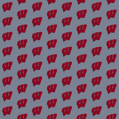 NCAA Collegiate II Wisconsin Novelty Rug Rug Size: 109 x 132
