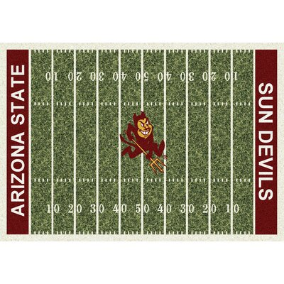 NCAA Home Field Arizona State Novelty Rug Rug Size: 109 x 132
