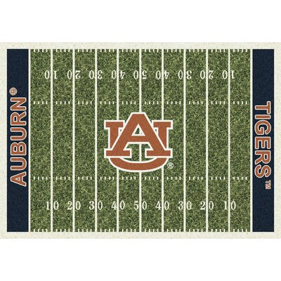 NCAA Home Field Auburn Novelty Rug Rug Size: 54 x 78