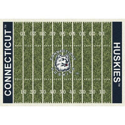 NCAA Home Field Connecticut Novelty Rug Rug Size: 78 x 109