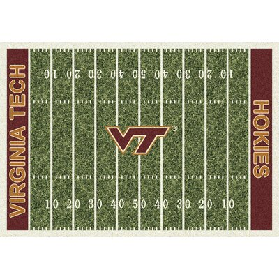 NCAA Home Field Virginia Tech Novelty Rug Rug Size: 54 x 78