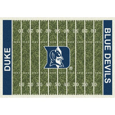 NCAA Home Field Duke Novelty Rug Rug Size: 109 x 132