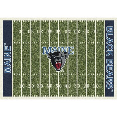 NCAA Home Field Maine Novelty Rug Rug Size: 78 x 109