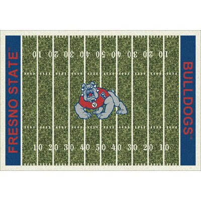 NCAA Home Field Fresno State Novelty Rug Rug Size: 109 x 132