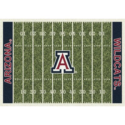 NCAA Home Field Arizona Novelty Rug Rug Size: 109 x 132