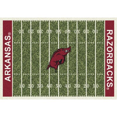 NCAA Home Field Arkansas Novelty Rug Rug Size: 109 x 132