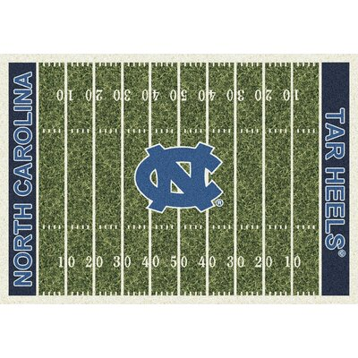 NCAA Home Field North Carolina Novelty Rug Rug Size: 310 x 54