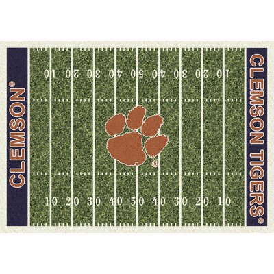 NCAA Home Field Clemson Novelty Rug Rug Size: 78 x 109