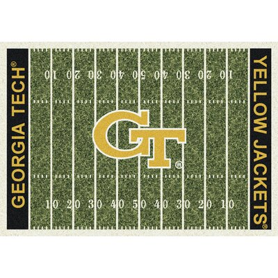NCAA Home Field Georgia Tech Novelty Rug Rug Size: 109 x 132