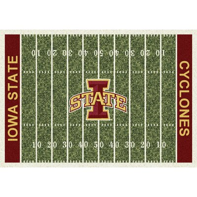 NCAA Home Field Iowa State Novelty Rug Rug Size: 78 x 109