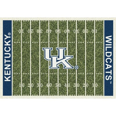 NCAA Home Field Novelty Rug Rug Size: Rectangle 109 x 132, NCAA Team: Kentucky