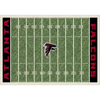NFL Homefield Atlanta Falcons Football Indoor/Outdoor Area Rug Size: 54 x 78