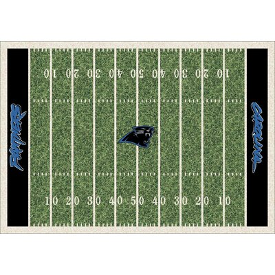 NFL Homefield Carolina Panthers Football Indoor/Outdoor Area Rug Size: 78 x 109
