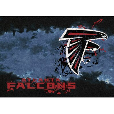NFL Team Fade Novelty Rug NFL Team: Atlanta Falcons