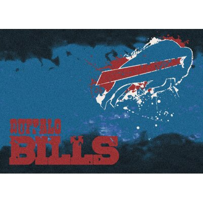 NFL Team Fade Novelty Rug NFL Team: Buffalo Bills