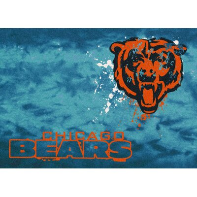 NFL Team Fade Novelty Rug NFL Team: Chicago Bears