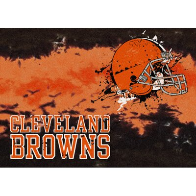 NFL Team Fade Novelty Rug NFL Team: Cleveland Browns