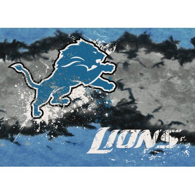 NFL Team Fade Novelty Rug NFL Team: Detroit Lions