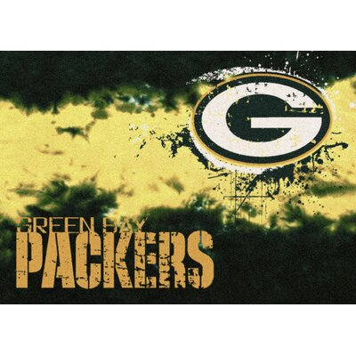NFL Team Fade Green Bay Packers Novelty Rug