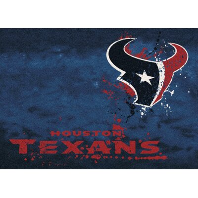 NFL Team Fade Novelty Rug NFL Team: Houston Texans