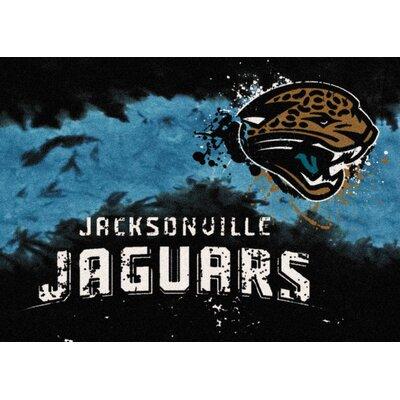 NFL Team Fade Novelty Rug NFL Team: Jacksonville Jaguars
