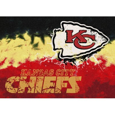 NFL Team Fade Novelty Rug NFL Team: Kansas City Chiefs