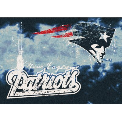 NFL Team Fade New England Patriots Novelty Rug