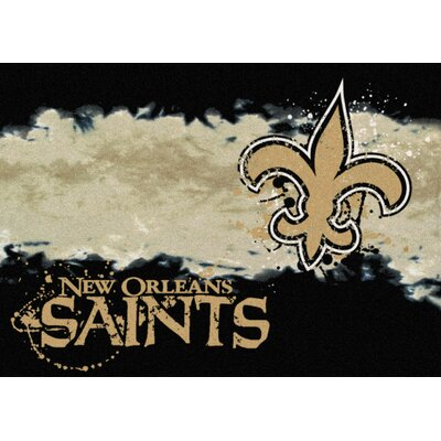NFL Team Fade Novelty Rug NFL Team: New Orleans Saints
