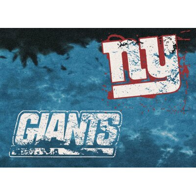 NFL Team Fade Novelty Rug NFL Team: New York Giants