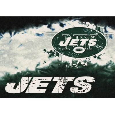 NFL Team Fade Novelty Rug NFL Team: New York Jets