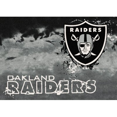 NFL Team Fade Oakland Raiders Novelty Rug