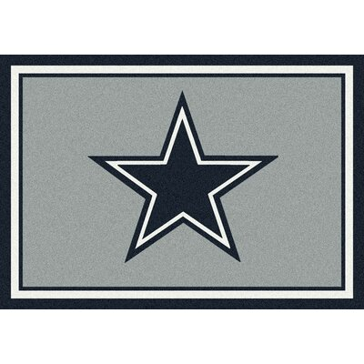 NFL Gray Area Rugs Rug Size: 310 x 54