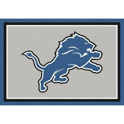 NFL Gray Area Rug Rug Size: 54 x 78