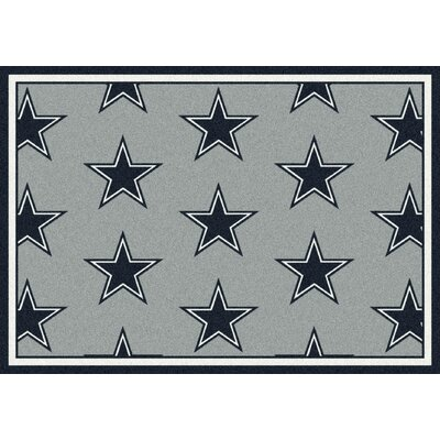 NFL Team Repeat Dallas Cowboys Football Indoor/Outdoor Area Rug Size: 109 x 132