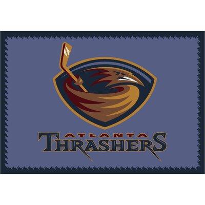NHL Atlanta Thrashers 533322 1011 2xx Novelty Rug Rug Size: 54 x 78