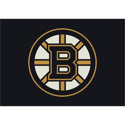NHL Boston Bruins 533322 1021 2xx Novelty Rug Rug Size: 54 x 78