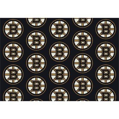 NHL Boston Bruins 533322 1022 2xx Novelty Rug Size: 109 x 132