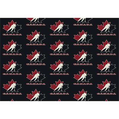 NHL Canada Hockey 533322 2112 2xx Novelty Rug Rug Size: Runner 21 x 78