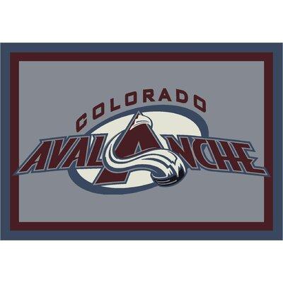 NHL Area Rug NHL Team: Colorado Avalanche