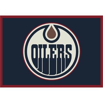 NHL Edmonton Oilers 533322 1211 2xx Novelty Rug Rug Size: 54 x 78
