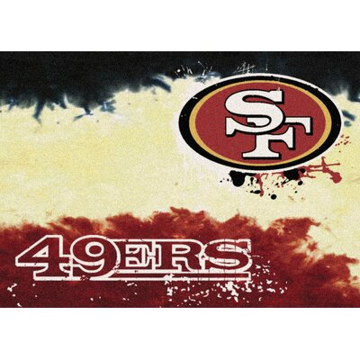 NFL Team Fade San Francisco 49ers Novelty Rug