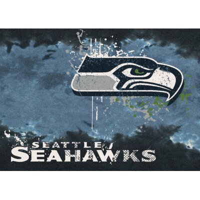 NFL Team Fade Seattle Seahawks Novelty Rug