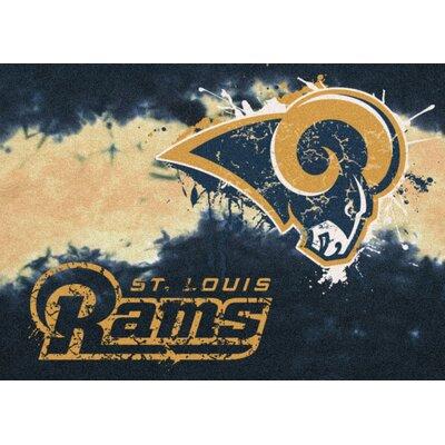 NFL Team Fade Novelty Rug NFL Team: St. Louis Rams