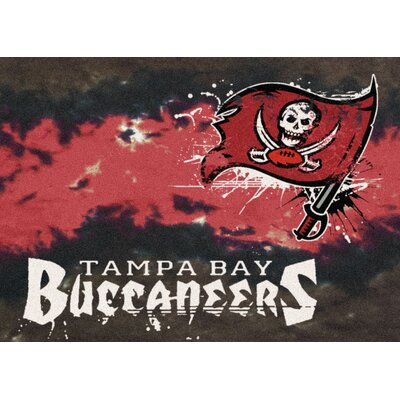 NFL Team Fade Tampa Bay Buccaneers Novelty Rug