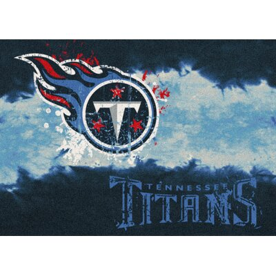 NFL Team Fade Tennessee Titans Novelty Rug