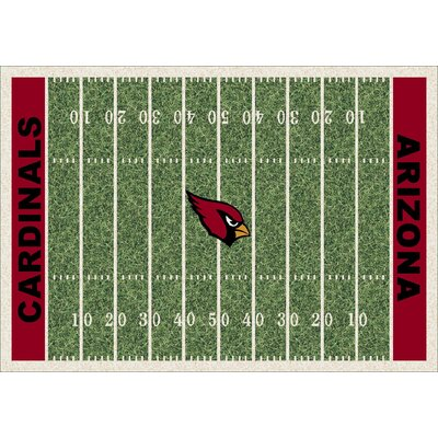 NFL Team Home Field Arizona Cardinals Novelty Rug Rug Size: 310 x 54