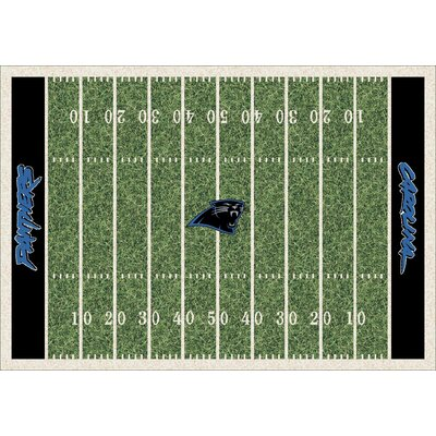 NFL Team Home Field Carolina Panthers Novelty Rug Rug Size: 78 x 109