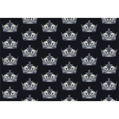NHL Los Angeles Kings 533322 1412 2xx Novelty Rug Rug Size: 54 x 78