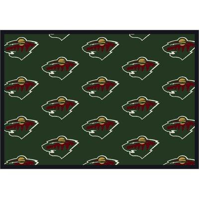 NHL Minnesota Wild 533322 1512 2xx Novelty Rug Rug Size: Runner 21 x 78